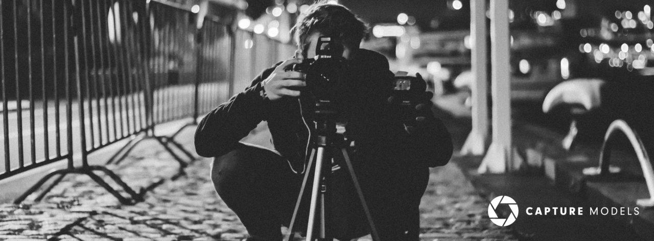 capture models photo shoot