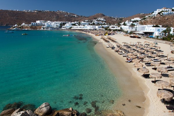 Platis Gialos beach beaches in Europe